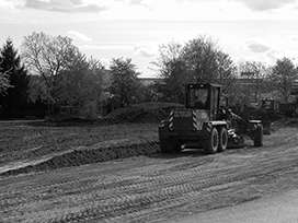 Evocrete - Construction of a link road in the county of Biberach a. d. Riss