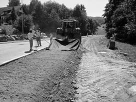 Evocrete - Road rehabilitation at the NK 107 in the county of Aargau