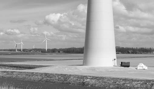 Foundations for Wind Mills with EvoCrete®